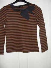 Girls' Long Sleeve Striped T-Shirts, Top & Shirts (2-16 Years)
