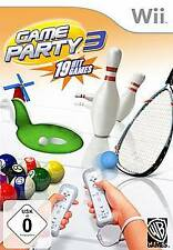 Nintendo Wii +Wii U GAME PARTY  3 * DEUTSCH GuterZust.