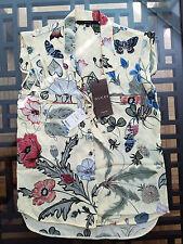 Gucci Flora Knight Print Silk Shir tOriginal:$960 + TAX Size - 38/4