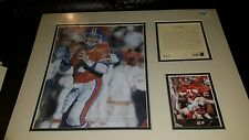 JOHN ELWAY Kelly Russell Lithograph Print Original Art Matted LIMITED EDITION