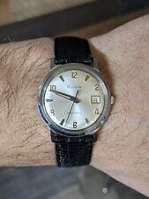 Vintage BULOVA Automatic Stainless Steel Date Men's Wristwatch M9 1969