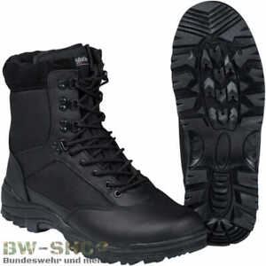 SECURITY TACTICAL STIEFEL SWAT BOOT SCHWARZ ARMY TREKKING OUTDOOR ARBEITSSTIEFEL