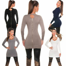 Koucla Patternless Zip Jumpers & Cardigans for Women