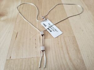 """VINTAGE COLLECTIBLE *STERLING SILVER 925* NECKLACE 16"""" Long - ITALY"""