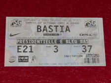 [COLLECTION SPORT FOOTBALL] TICKET PSG / BASTIA 27 OCTOBRE 2001 Champ.France