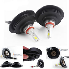 32mm Soft Rubber Housing Dust Cap Cover For HID LED Light Aftermarket Headlight