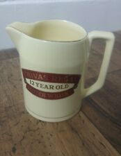 "CHIVAS REGAL ""12 YEAR OLD"" VINTAGE 1 PINT WATER JUG WADE PDM approx 5x5 inches"