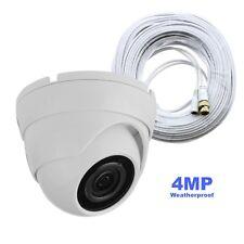 Samsung Compatible 4MP Dome Security Camera f/ SDH-C85100BF, SDH-B84040BF, w/cbl