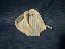 Vintage American Character Betsy McCall 9300 Romper Sunsuit Blue White Stripes