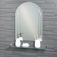 Frameless Arch Bathroom Mirror Wall Mounted  60x45cm | Soho