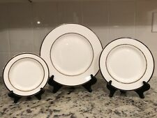 New ListingKate Spade Library Lane Navy 3 Piece Place Setting Lenox