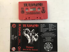 Blasphemy - Victory - Son Of The Damned Cassette Tape - SEALED - War Black Metal