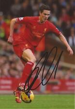 LIVERPOOL: MARTIN KELLY SIGNED 6x4 ACTION PHOTO+COA