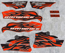 2010 Yamaha Banshee Red/Black Decals Stickers Labels Graphics 8pc kit