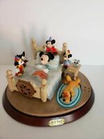 "Walt Disney Mickey Mouse ""Through The Years"" Figurine Music Box"