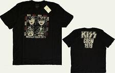 NWT LUCKY BRAND Men's KISS Tour 79 Cotton Short Sleeve T Shirt XL X-Large New