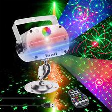 More details for laser projector rgb stage light led 240 pattern party ktv dj disco lights club