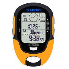 SUNROAD 7in1 Meter GPS Barometer Altimeter Compass Thermometer Pressure Tester