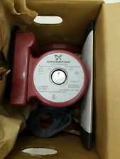 Grundfos Circulator Pump UP15-42 SF Stainless Steel Flanged Connection - NEW