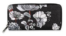 """Fiorelli Geldbörse Portemonnaie """"City Black Botanical"""" Schwarz Blumen FWS0017"""