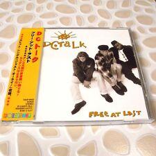 Dc Talk - Free At Last JAPAN CD Mint W/OBI Funk/Rap #AD04*