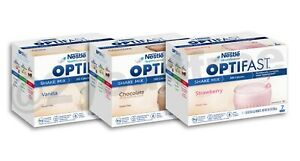 AUTHENTIC OPTIFAST® 800 CHOCOLATE / VANILLA / STRAWBERRY SHAKE MIX | 42 SERVINGS