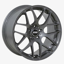 20x9 +35 20x10 +35 VMR V710 5x120 Gunmetal Wheels Fits BMW E60 F10 550I 2013