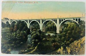 Vintage Washington DC Connecticut Avenue Bridge Postcard
