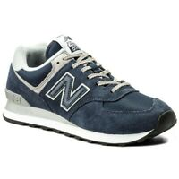 New Balance ML574EGN Core Scarpa Sport Sneaker Blue Navy