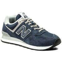 New Balance ML574EGN Core Scarpa Sport Sneaker Blue Navy