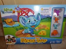 ELEFUN & FRIENDS MOUSE TRAP BOARD GAME BY HASBRO CHARACTERS INCLUDED 4+