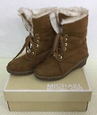 Michael Michael Kors Child Camel Boots Size 13.5