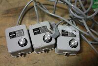 Carl Zeiss 39 25 65 Microscope Illuminator Power Supply 6V LOT OF 3