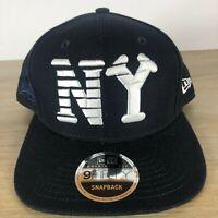 Classic New York Black Yankees MLB New Era 9FIFTY Snapback Hat - Brand New