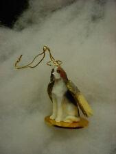 American Foxhound Dog Angel Ornament Figurine Statue New Christmas Hound puppy