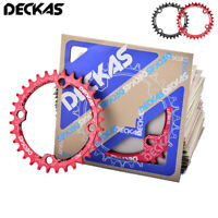DECKAS BCD104mm MTB Bike Chainring Narrow Wide Single Chain Ring 32T 34T 36T 38T