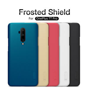 For OnePlus 7T Pro Case Original Nillkin Slim Matte Hard Back Best Cover Shield