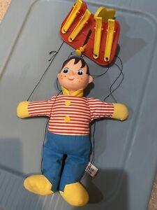 Vintage 1962  Knickerbocker Pinocchio Puppet children's doll