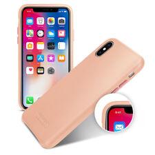 TETDED Premium Leather Case for Apple iPhone X -- S Caen II Prestige: Magenta