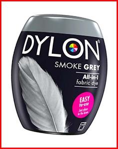 DYLON Washing Machine Fabric Dye Pod for Clothes & Soft Furnishings, 350g Grey