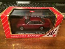 Paradise Garage 1/43 Holden Commodore BERLINA MODELOS 91010 vs-Rojo-En Caja