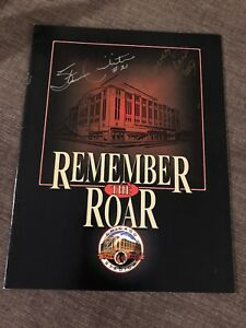 Chicago Blackhawks Bobby Hull & Stan Mikita Signed Autograph Remember The Roar