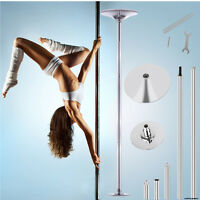 Portable Dance Pole 45mm Stainless Steel Fitness Dancing Spinning Static