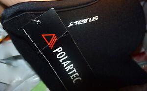 Seirus Face Mask Unisex Neofleece Combo Scarf Polartec Black * Large * fast ship
