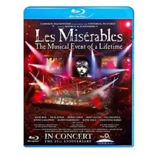 LES MISERABLES: IN CONCERT - THE 25TH ANNIVERSARY NEW REGION B BLU-RAY