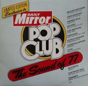 Daily Mirror Pop Club-The Sound Of 77 Vinyl LP.1977 WEA SP 2002.Fleetwood Mac+