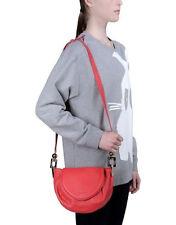 See By Chloe Flamboyant Red Lena Leather Crossbody Handbag Purse