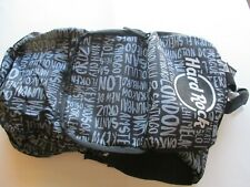 HARD ROCK CAFE PACKABLE DESTINATION BACKPACK NEW WITH TAGS FROM ROME ITALY