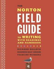 """""""NEW"""" The Norton Field Guide to Writing with Readings and Handbook 4TH EDITION"""