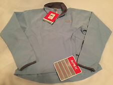 North Face Womens APEX 1/4 Zip Running Shirt Pullover Jacket  XS Sphere Blue